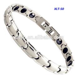 Wholesale Men's Titanium Magnetic Hematite Necklace Bracelet