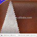 Semi de la pu pvc sofá material de cuero para sofá