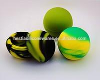 Custom FDA approved food grade nonstick small slick wax oil bho ball butane hash oil silicone container