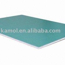 PE or PVDF coating Finland Green Kamol aluminum composite panels building materials