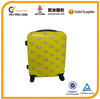 yellow cute luggage wheels parts,smooth trolley