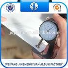 Rigid plastic PVC sheet for photo album from manufacture