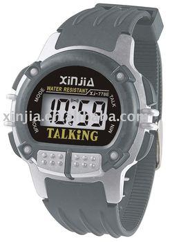 Talking watch