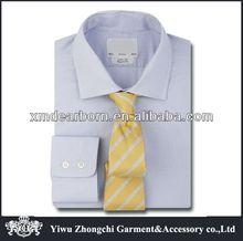 Regular Fit Blue Micro Dogtooth designer shirts
