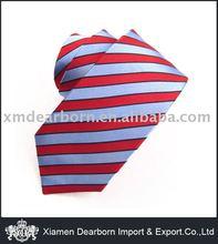 Slim Stripe 100% Silk Necktie
