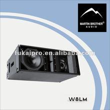 """three-way 8"""" mini line array speaker W8LM"""