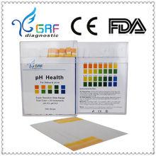 4.5-9.0 ph visual saliva & urine test strip