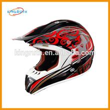 Good ABS full face dirt bike racing motorcycle skull cool China full face bike helmet