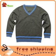 Libre de la muestra! Nuevo príncipe de la moda infantil de disfraces de lana para hacer punto jersey infantil mezclar orden al por mayor