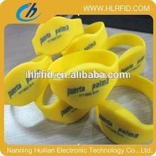 Adjustable Custom Waterproof Silicone Smart Wristband wristband anti lost alarm