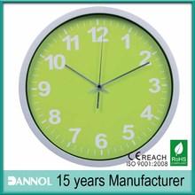"Dannol 12"" quartz plastic /decorative digital wall clock modern design"