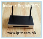 India Tv Full Hd Indian IPTV Box, With 105 Live channels + VOD Movies