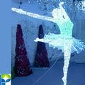 lebendige heißer verkauf wasserdicht dekoration Tanz führte tanzende ballerina zahlen