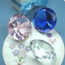 Popular Wedding Return Gift / Engraving Personalized Crystal Diamond