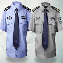 Azul barato de la muestra para las cámaras de seguridad uniforme