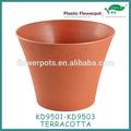 Kd9501-kd9503 vasi di fiori di plastica per le orchidee