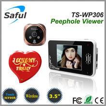 Saful TS-WP306 2.4GHz Digital Wireless Peephole Viewer door eye