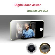 our promotion 3.2'' door eye lcd,lcd digital door viewer,lcd door viewer