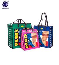 pp woven shopping tote bag / high quaity pp big bag