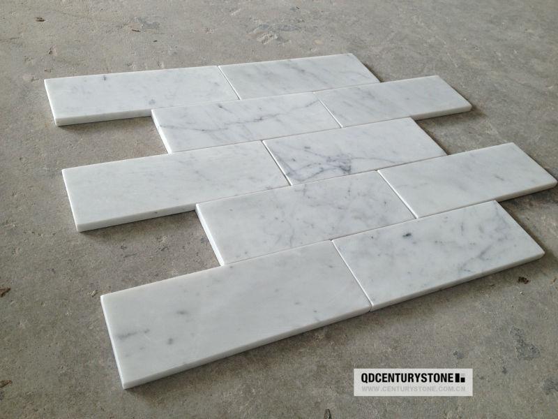 Blauw Mozaiek Badkamer ~ carrara wit marmeren tegels voor de badkamer, keuken vloer en wand te