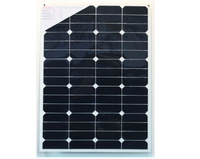 60W sunpower semi flexible solar panel manufacturer from China