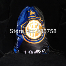 football club Inter Milan printing custom drawstring bags