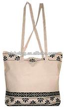 Printed Cotton Shopping Bag/ Cotton Canvas Totes/Cotton Shopper
