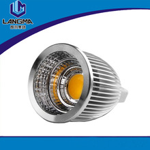 mr16 gu5.3 aluminum warm white cob new led mini spotlight