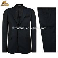 high quality 2 piece latest design men suit, man business suit designs of plain suit