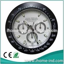 Classic design watch shape wall clock like swiss watch