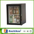 Atacado hotel 30 litro de vidro porta mini-bar frigorífico