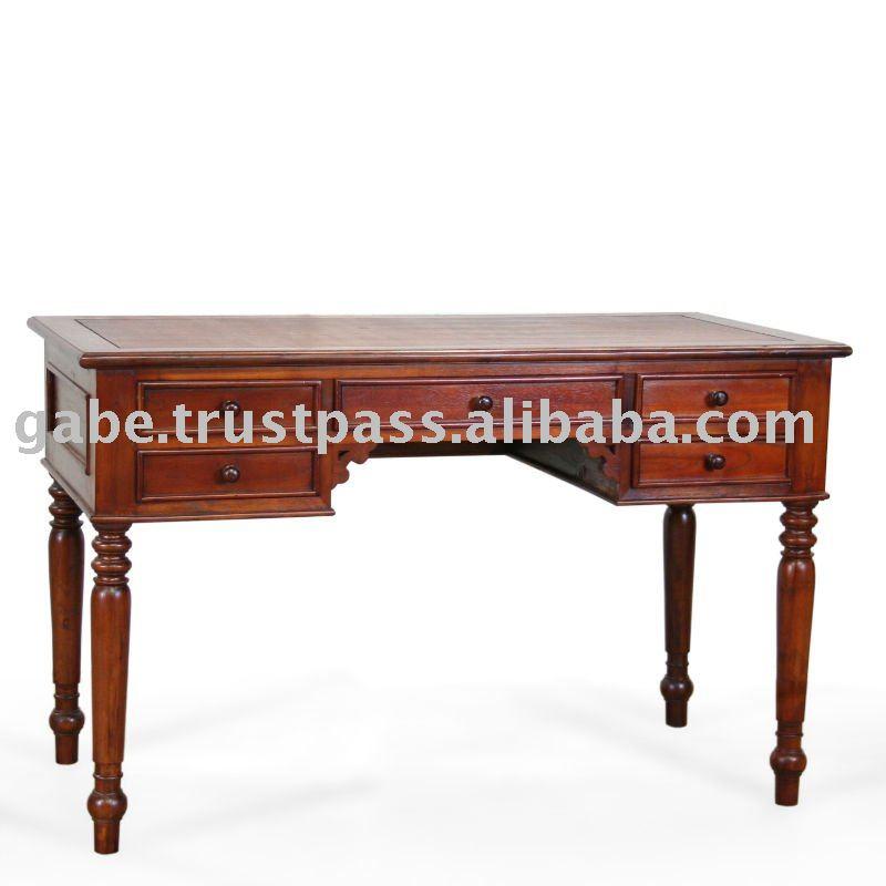 Colonial de escritorio - Mesa escritorio colonial ...