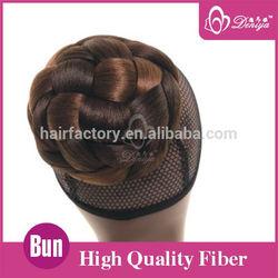 DY- BN185 braided fake hair bun