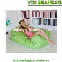 Rectangle polyester bean bag lounge turkish furniture