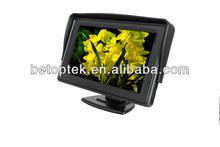 4.3-inch car lcd tft monitors, high definition backup monitor (BTM-430)