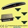 LED display no drill parking sensor, screw mounted sensor (BE-660-4)