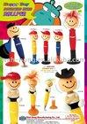 Handsome boys shaped bobble head plastic promotional ballpen
