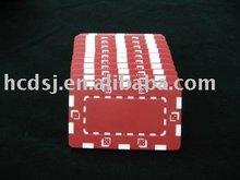 rectangular poker chip