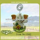 cartoon ceramic elephant calling card