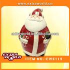 ceramic christmas ornament storage box