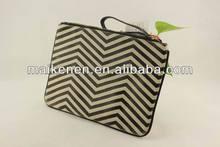 Hot sale fashion wave printing PU purses and handbags alibaba china supplier