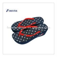 2012 ladies' fashionable high heel flip flops