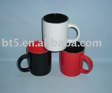 Stoneware color bulk cheap 12OZ coffee mug
