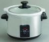 removable ceramic crock pot round slow cooker