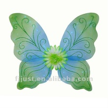 China wholesale fashion led butterfly wings for thanksgiving