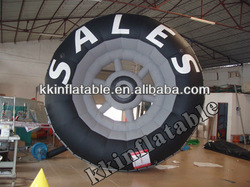 Best Selling Inflatables,Inflatable Advertising Tire Model,Inflatable Products Shape