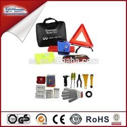 car accessories of roadside emergency kit