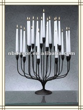 Fashion Iron decorative candelabra