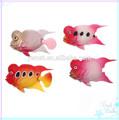 Artificielles en plastique de poisson, plastique poissons flower horn, gros poissons