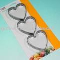 Jk13503h 3 pcno- palo anillo de huevo, la forma del corazón